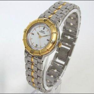 Sieko gold plated vintage quartz watch
